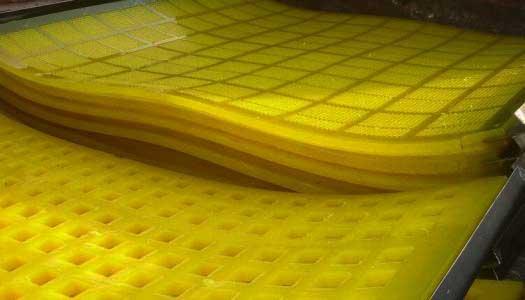 polyurethane high frequency screen panel